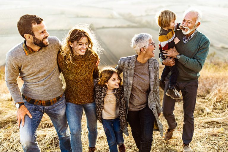 BetterLife family all on hike - Final Expense